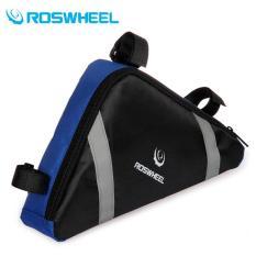 Roswheel Tas Sepeda Segitiga Blue Original