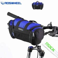Review Roswheel Tas Stang Sepeda Waterproof Blue Terbaru