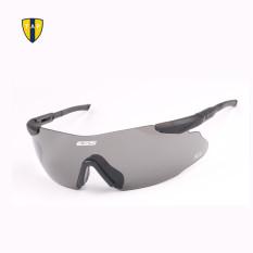 Kualitas Tinggi Militer ESS Taktis Kacamata Bersepeda Kacamata Keselamatan Tentara Berburu Permainan Luar Ruangan 3 Pasang Lensa Hitam