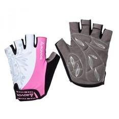 ROVOS Women's Light Non-Slip Half Finger Gel Pad Cycling Gloves Breathable Mountain Biking Riding Gym Sport Gloves - intl
