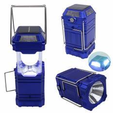 Spesifikasi Ruibao Senter Lampu Emergency Lentera Camping Powerbank Solar C1 Ruibao