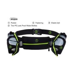 Toko Tas Sabuk Olahraga Lari Mendaki Gunung Berkemah Bersepeda Pelari Pemegang Dengan Tas Pinggang Pack 2 Botol Air Hitam Terlengkap Tiongkok