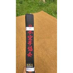 Sabuk Karate Hitam Tq 3 Hokido - D73367