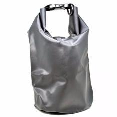 Safebag Outdoor Drifting Waterproof Bucket Dry Bag 10 Liter Tas Anti Air Water Proof Perlengkapan Olahraga Camping Rekreasi Travelling Hiking Sling Selempang Bahan Parasut Tidak Tembus Air Daya Tampung Banyak Luas Dapat Dilipat Safety - Hitam