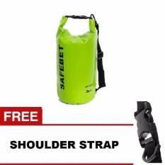 Spesifikasi Safebet Waterproof Dry Bag 5 L Hijau Gratis Shoulder Strap Safebet