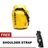 Situs Review Safebet Waterproof Dry Bag 5 L Kuning Gratis Shoulder Strap