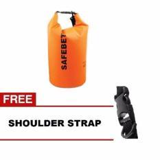 Toko Safebet Waterproof Dry Bag 5 L Orange Gratis Shoulder Strap Murah Di Dki Jakarta