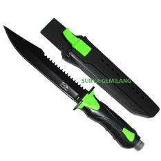Beli Sangkur Belati 068 Hijau Knive Pemburu Survival Belati Baja Super Tajam Dsc Online