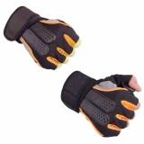 Harga Sarung Tangan Half Finger Sarung Tangan Sepeda Sarung Tangan Fitnes Sarung Tangan Olahraga Hitam Marlow Jean Baru