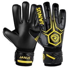 Sarung tangan kiper sepak bola profesional berkualitas dengan proteksi jari