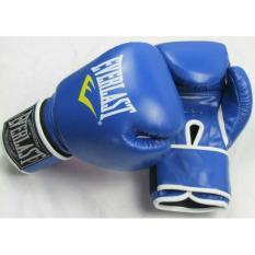 Jual Sarung Tinju Muaythai Thai Boxing Everlast Sarung Tangan Kulit Murah