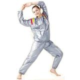 Review Sauna Suit Size Xl Baju Sauna Pembakar Lemak Silver Sauna Suit