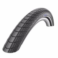 SCHWALBE Ban Luar Sepeda Big Apple 26X2.15 Active, Wired, K-Guard - Hitam