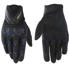 Scoyco Mc10 Sepeda Motor Bersepeda Racing Riding Sarung Tangan Pelindung Penuh Jari Riding Glove Biru Asli