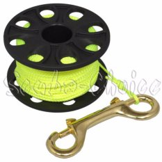 Beli Scuba Choice Diving Kompak Jari Spool 167Ft 50 M Dive Reel Garis Kuning Intl Cicilan