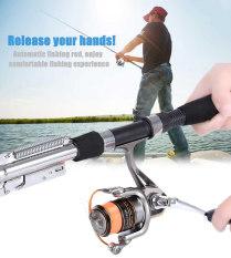 Sungai Danau Laut Stainless Steel Otomatis Ikan Fishing Rod Tiang 1.8 M