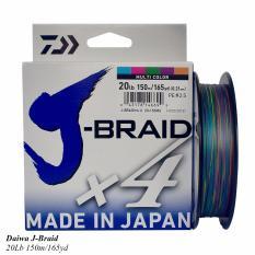 Jual Senar Pe Daiwa J Braid X4 150M Ukuran 20 Lbs