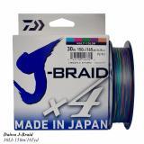 Spesifikasi Senar Pe Daiwa J Braid X4 150M Ukuran 30 Lbs Lengkap