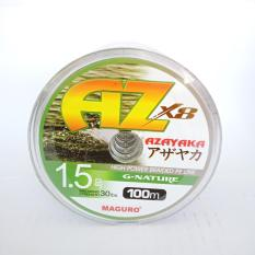 Senar PE Maguro Azayaka X8 G-Nature 100M PE 1.5