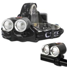 Promo Senter Headlamp R2 Led Cree Xm L T6 800 Lumens Black Akhir Tahun