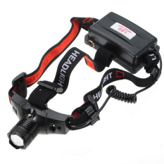 Review Toko Senter Power Style Headlamp Senter Kepala Led Cree Q5 High Power Zoom
