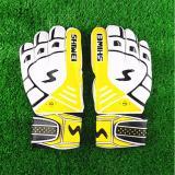 Jual Sepak Bola Sarung Tangan Kiper Sepak Bola Pria Getah Sarung Tangan Getah Plam Sarung Tangan Untuk Penjaga Gawang Pelatihan Di Tiongkok