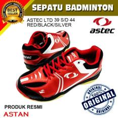 Sepatu Badminton Astec Ltd -Red-Black-Silver - Ce53bb