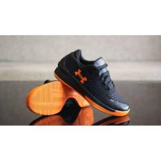 Sepatu Basket Under Armour Hitam Orange Oriignaal Premium Import 39-44