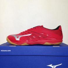 Sepatu Futsal Mizuno Basara 103 Sala IN True Red Q1GA183103 Original BNIB