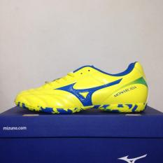 Sepatu Futsal Mizuno Monarcida 2 FS IN Yellow Bolt Blue P1GF172345 Original BNIB