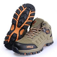 Sepatu Gunung/Trekking/Hiking/Adventure Merek Snta  467 Beige - Bbbaa6