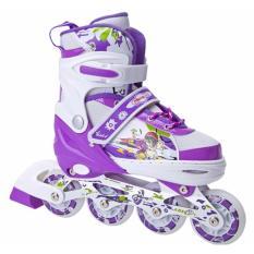 Sepatu roda anak bajaj murah sepatu inline skate lampu