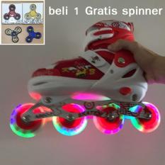 Sepatu roda anak inline skate power super model bajaj