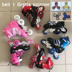 Sepatu Roda Anak Power Inline Skate POWER SUPERB Model BAJAJ - Ukuran