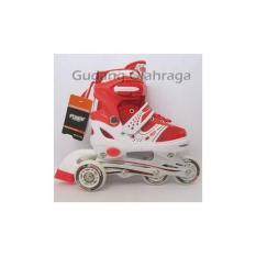 Sepatu Roda BAJAJ Power Superb SOL (Jahit) / Inline Skate Anak- Dewasa