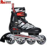 Ulasan Sepatu Roda Cougar Inline Skate Mzs835L Balck Silver