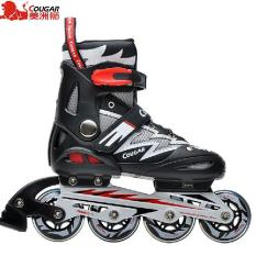 Sepatu Roda COUGAR Inline Skate MZS835L Balck Silver 7b431031df