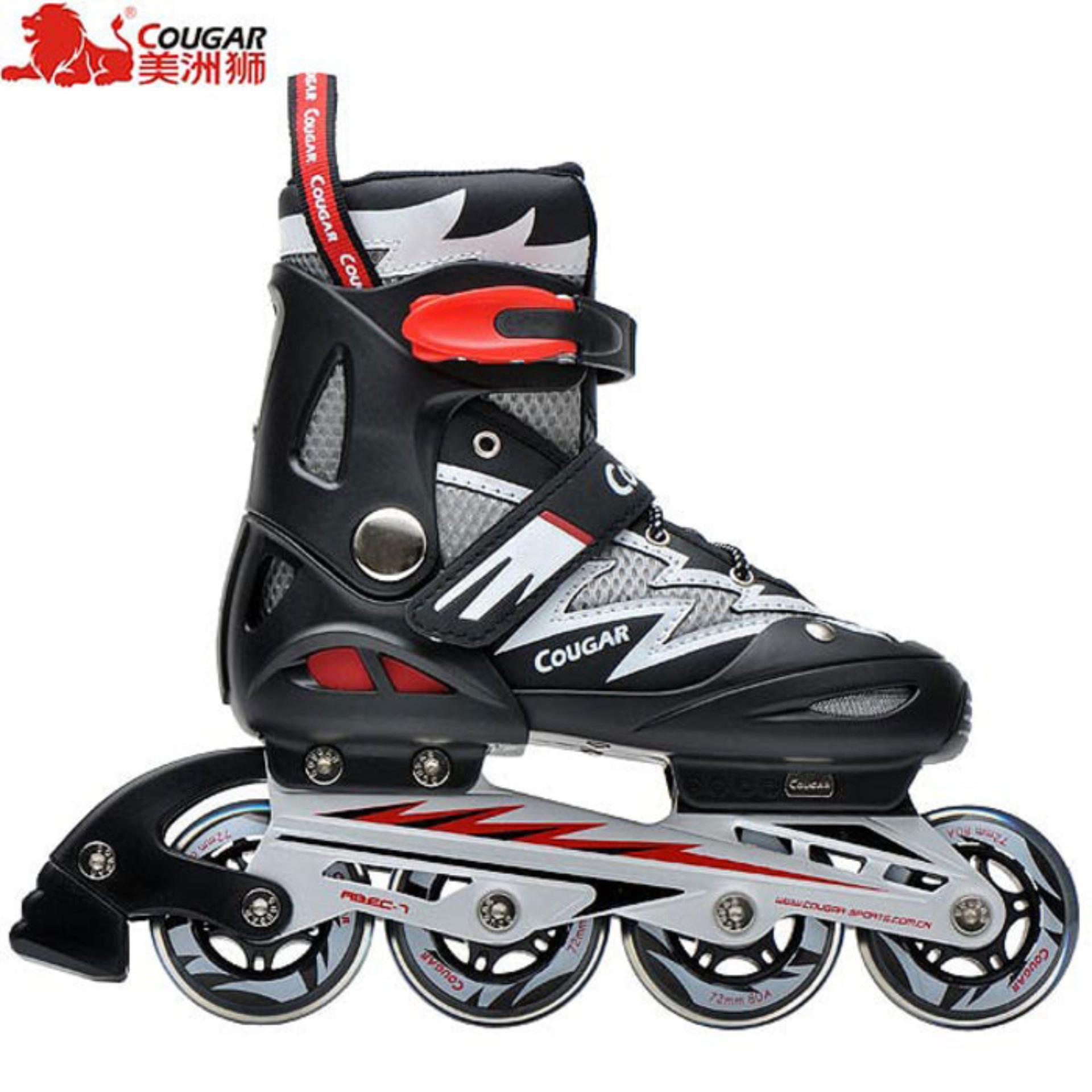 Review of Sepatu Roda COUGAR Inline Skate MZS835L Balck Silver anggaran  terbaik - Hanya Rp604. 6844520dd3