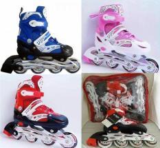 Sepatu Roda Inline Skate ( New Original 100% ) Bergaransi 1 Bulan- Harga Termurah Kualitas Bagus Kuat ( Bukan Yg Kw ) Sepatu Roda Anak Roller Blade Power