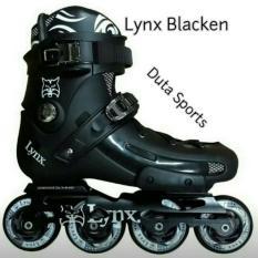 Sepatu Roda LYNX BLAKEN Slalom Inline Skate ( Black )