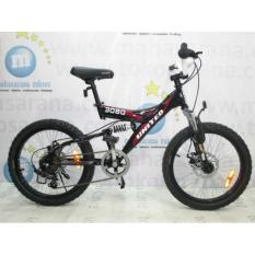 Sepeda Anak Mtb Roda 20 inch United 3080 6speed Rem Disc
