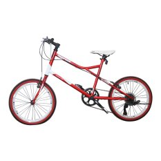 Diskon Besarsepeda Racing Viva Cycle Viva 20 Hi Ten Mini Racing Shimano Zero26 7Sp L2110 Red Gratis Pengiriman Jadetabek