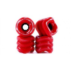 Shark Wheel 1001S60MMS78AR Cruiser Roda, 60mm, Merah, California Roll Skateboard Roda-Internasional
