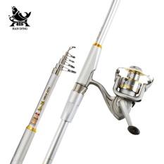 Shenbing Pancingan Ikan Laut Combo 2.1-3.6 M Super Hard Karbon Tinggi 5-7 Bagian Teleskopik Tongkat Pancing untuk Ikan Besar Casting Rod-Intl