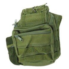 Silver Knight Tas Slempang Army Sling Bag 803 S - Hijau
