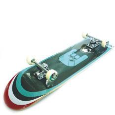 Silverfox Maple Skateboard (31x8) Blu-Grn Fingers LY-3108AAIDR655000. Rp 695.000