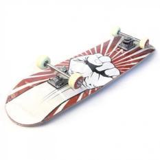 Silverfox Skateboard Maple 31X8 Inch Radical Rider LY-3108AA-AIDR239000. Rp 244.000