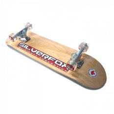 Review Silverfox Skateboard Pro 100 Canadian Maple Natural