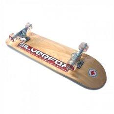 Promo Silverfox Skateboard Pro 100 Canadian Maple Natural Murah