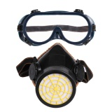 Harga Single Tank Activated Carbon Filter Type Gas Mask With Eye Mask Pvc Tpr Black Pvc Intl Yang Bagus
